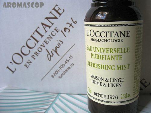 Универсальная освежающая вода для дома L'OCCITANE AROMACHOLOGIE Refreshing Mist