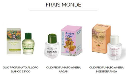 коллекция парфюмерных масел