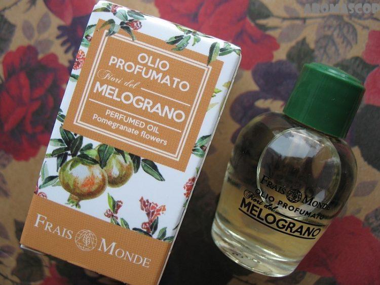 Парфюмерное масло Цветы Граната Frais Monde